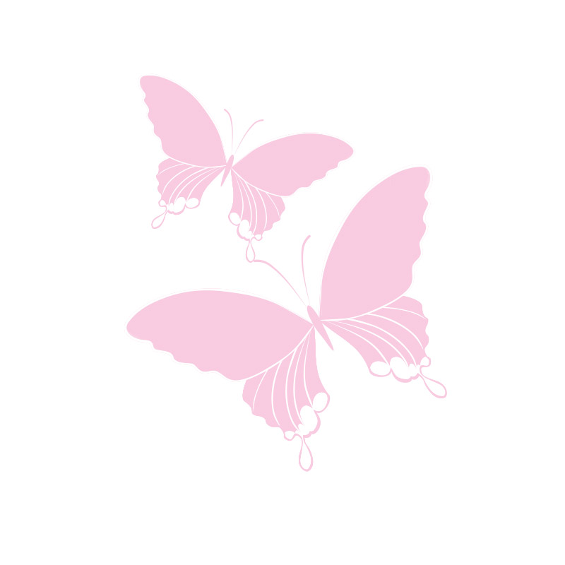 Olivia Garden Pinza Doble Pequeña - Set de 4 Uds